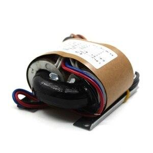 Image 3 - 35VA כפול 220 v כפול 6.3 v חמצן משלוח נחושת שנאי 35 w R סוג אודיו מגבר צינור שנאי