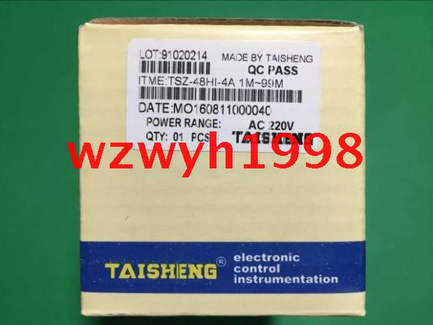 Genuine oven time timer TAISHENG TSZ-48HI-4A time relay TSZ 48HI 4A genuine taiwan research anv time relay ah2 yb ac220v