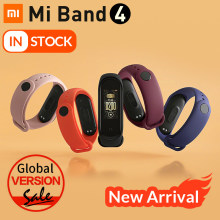 Newest 2019 Original Xiaomi Mi Band 4 Smart Color Screen Bracelet Heart Rate Fitness 135mAh Bluetooth5.0 50M Swimming Waterproof(China)