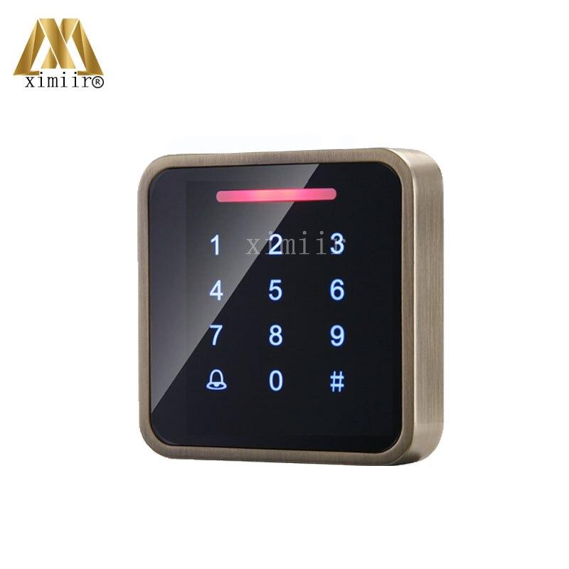 3000 benutzer IC MF Karte Tür Access Controller Standalone Single tür 13,56 MHZ Ic karte Access Control Reader + 10 stücke RFID karte - 2