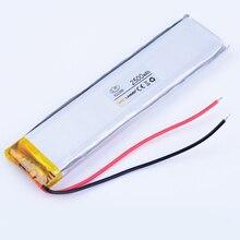 982999 3.7V 2500mAh Rechargeable Lithium Li Polymer Li-ion Battery For mp3 mp4 DVR GPS PDA psp bluetooth Speaker 1030100 9830100