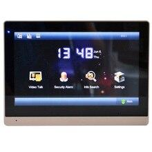 DH логотип мульти-Язык VTH1660CH 10 дюймов сенсорный экран крытый монитор, умный дверной звонок, видео-домофон, проводной дверной звонок