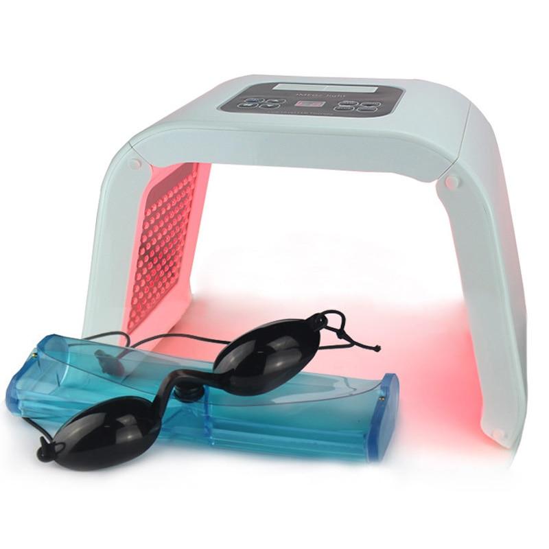 NEW Professionale Photon PDT Ha Portato Maschera per il Viso Macchina 7 Colori Acne Trattamento Viso Sbiancante Ringiovanimento Della Pelle Terapia Della Luce