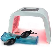 Nieuwe Professionele Photon Pdt Led Licht Gezichtsmasker Machine 7 Kleuren Acne Behandeling Gezicht Whitening Huidverjonging Lichttherapie