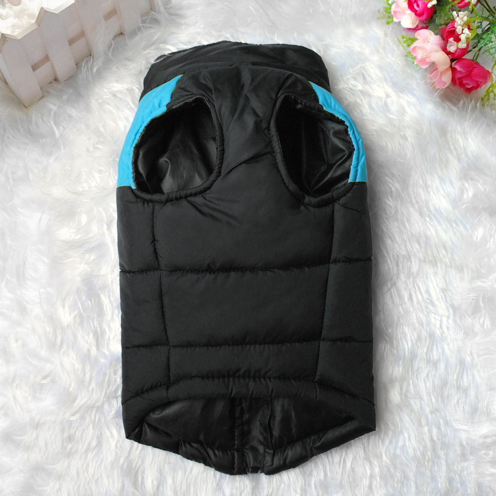 Waterproof Dog Jacket with Zipper for Large Dogs Made with Nylon Material 3
