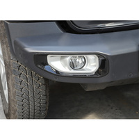 Yaquicka luz de nevoeiro da frente do carro lâmpada quadro capa decoração estilo do carro para jeep wrangler jl 2018 up carro-tampas novo