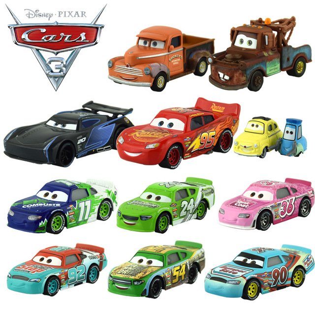 2017 nouveau 20 style disney pixar cars 3 alliage voiture jouet foudre mcqueen jackson temp te. Black Bedroom Furniture Sets. Home Design Ideas
