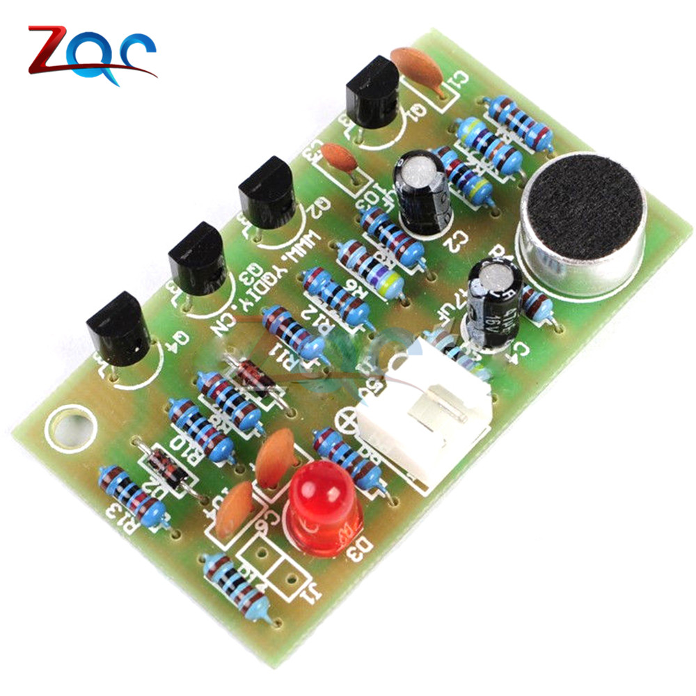Clap Acoustic Control Switch Module Suite Circuit Electronic Pcb Diy Mini Project Kit For Arduino In Instrument Parts Accessories From Tools On
