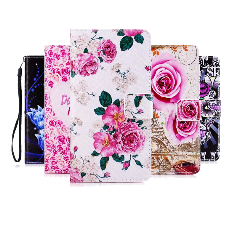 For <font><b>Samsung</b></font> J1 J3 J5 J7 2016 A3 A5 A7 2017 2015 S6 S7 edge S8 pattern pu leather phone case flip stand wallet style bag cover image