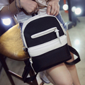 2016 fashion Korea brief women canvas backpack school backpack for teenage girls small backpack