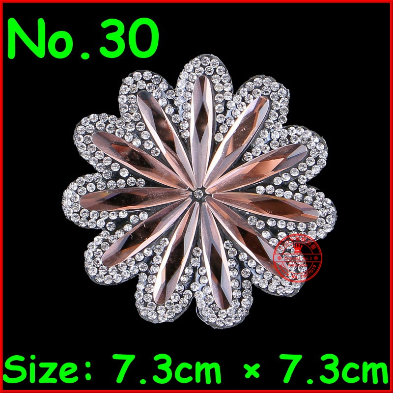 Detail Feedback Questions about 1 Pcs Flower Shine Patches Hotfix Rhinestone  Heat Iron on Motif Rhinestone Patch For Women Clothes Wedding Dress DIY ... c87a52a8e8ec