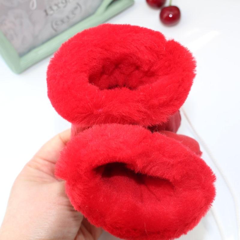 1 5Y Kids Warm Gloves Genuine Leather Sheep Fur Gloves for Children Boys Girls Children 39 s Thick Mittens Outdoor Ski Gloves Luvas in Men 39 s Gloves from Apparel Accessories