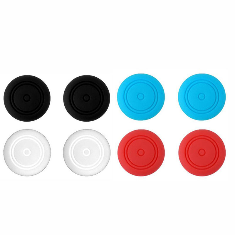 2 Silicone Thumb Stick Grip Caps Joypad Analog Joystick Cover Case For Nintend Switch Lite NS Mini Controller Joy-Con ThumbStick