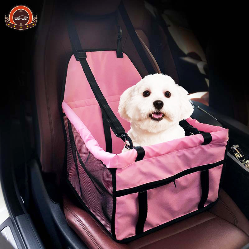 Aliexpress freeshipping coche del coche del animal doméstico del animal doméstico esteras del amortiguador impermeable del perro del animal doméstico cojín del perro con cinturón de seguridad corchete del amortiguador con la cuerda del animal doméstico
