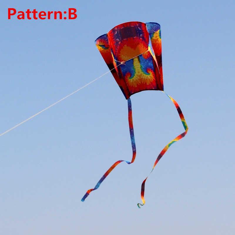 Para Kite Cola Regalo Con M Al 30 Playa Cuadrados Suave Arco Parafoil Cometa Adultos Aire Libre Iris Juguetes Volando Niños J3lFT1Kuc