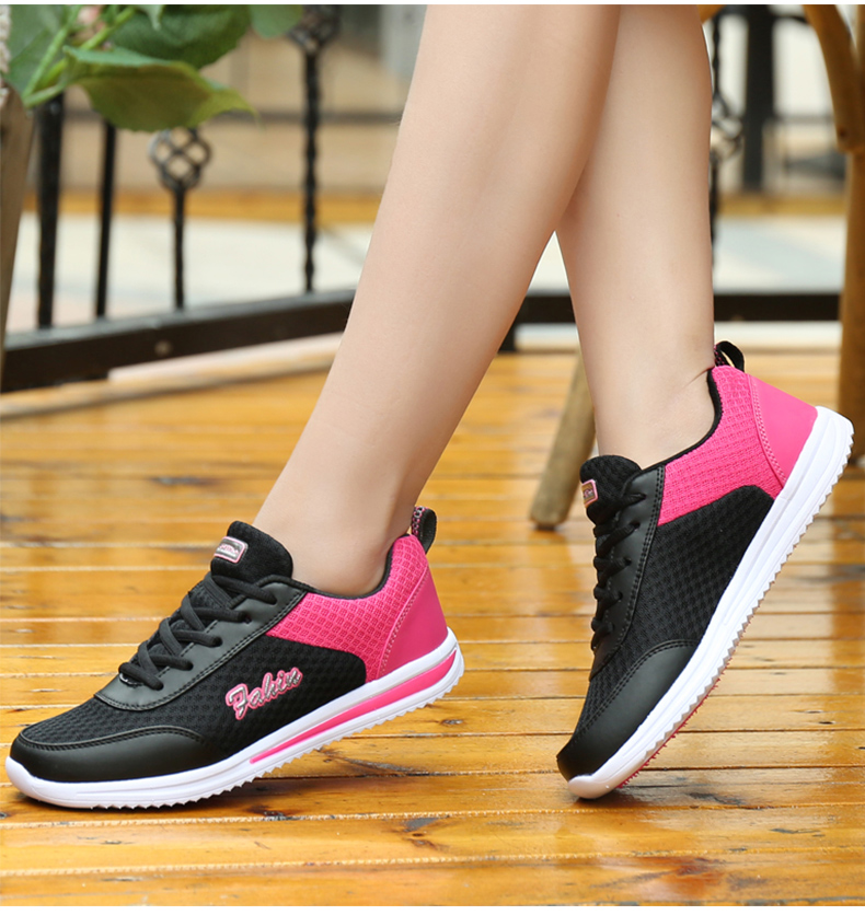 Dropshipping Women Shoes Summer White Sneakers Basket Femme Super Light Vulcanized Shoes Female Mesh Sneakers Women Casual Shoe