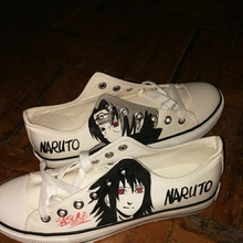 Anime Naruto Canvas Shoes Cool Unisex Breathable Shoe Halloween