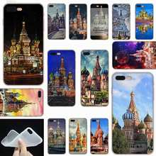 SHELI Russische Moskou Saint Petersburg Night Frosted Zachtheid Transparant case cover voor iPhone X XS XR MAX SE 5 5 s 6 6 s 7 8 Plu(China)