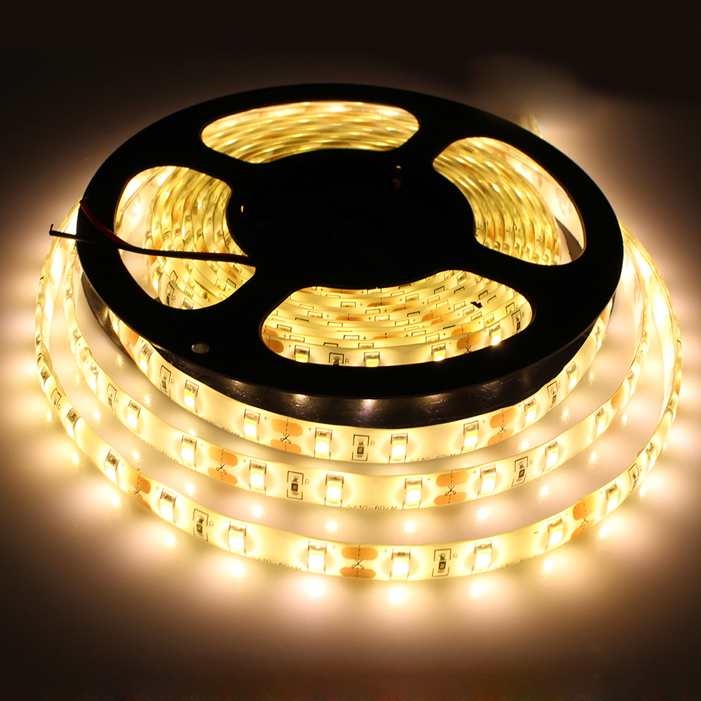 Led Strip Waterproof Tanbaby Flexible Waterproof Led Strip Light Smd 5630 Dc12v 5m 300led 5730 Led Rope Bar Light Outdoor Decoration Ulter Bright In Led Strips From Lights
