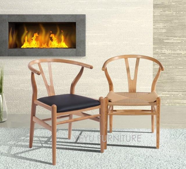 Minimaist Modern Design Solid Wooden Dining Chair Classic Fashion