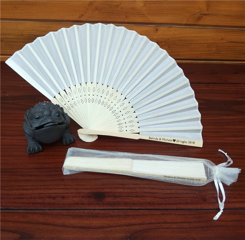 Personalized Wedding Gifts For Guests: Aliexpress.com : Buy 50Pcs Personalized Folding Hand Fan