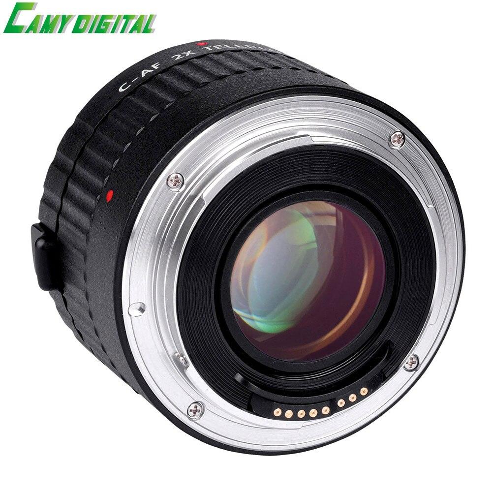 VILTROX C-AF 2X AF Auto Focus Teleconverter Lens Extender Magnification Camera Lenses For Canon EF Mount Lens DSLR Camera auto focus af adapter ring ef mft for canon ef ef s lens to m4 3 micro 4 3 camera