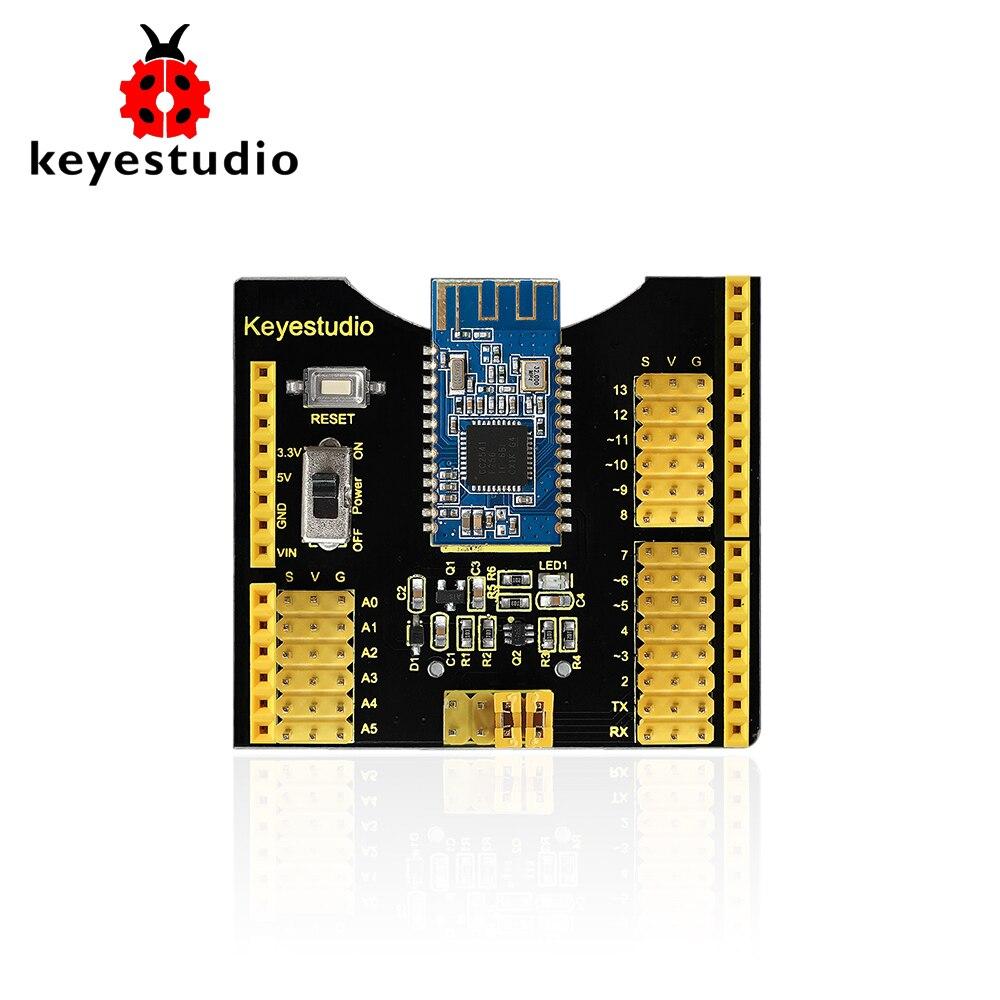 Keyestudio Bluetooth 4.0 Shield Expansion Shield Board for Arduino UNO R3Keyestudio Bluetooth 4.0 Shield Expansion Shield Board for Arduino UNO R3