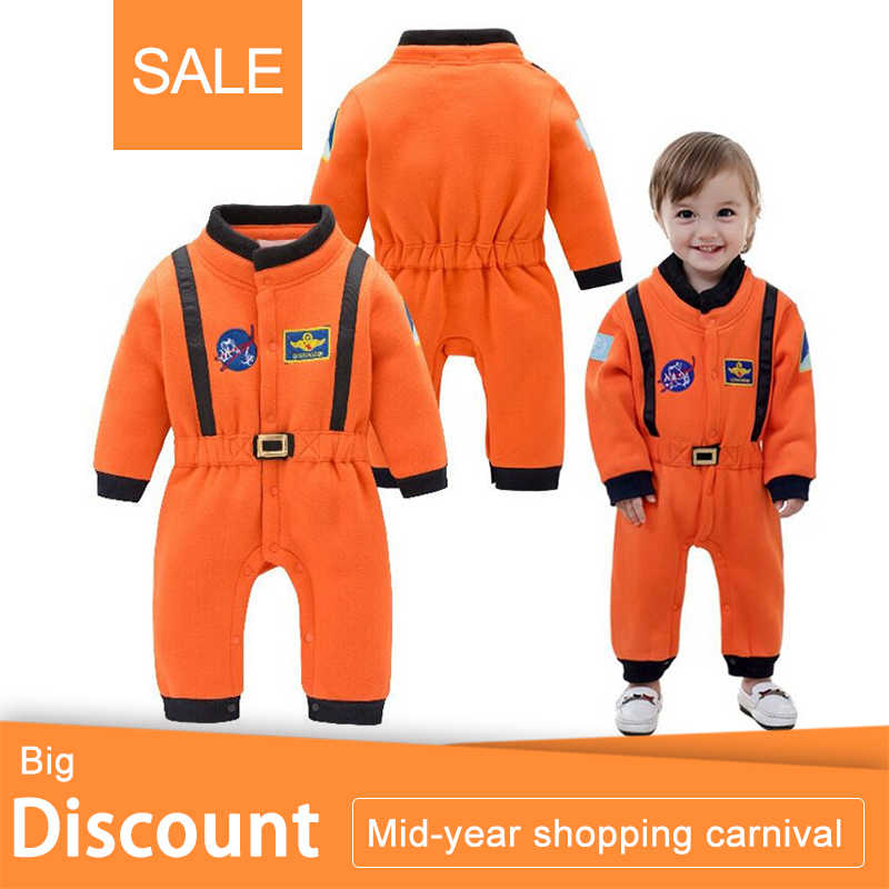 Nyan Cat Baby Boys Astronaut Costumes Infant Halloween Costume for Toddler baby Boys Kids Space Suit Jumpsuit infantil fantasia