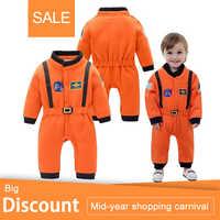 Bebê meninos astronauta trajes infantil traje de halloween para a criança do bebê meninos crianças espaço terno macacão infantil fantasia