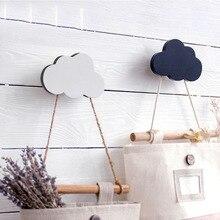 Настенный крючок, декоративные деревянные дверные крючки, декор для холодильника, кухни, комнаты, деревянные крючки для холодильника, 3D наклейка, украшение для детской комнаты