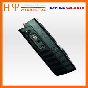 Image 4 - Originele Satlink Ws 6916 Satelliet Finder DVB S2 MPEG 2/MPEG 4 Satlink WS 6916 High Definition Satelliet Meter Tft Lcd scherm