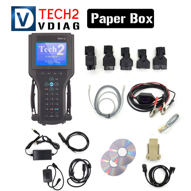 Free Shipping For Gm Tech 2 Scanner Diagnostic Tool High Performance For TECH2 For Gm 6 Softwares Without Black Box