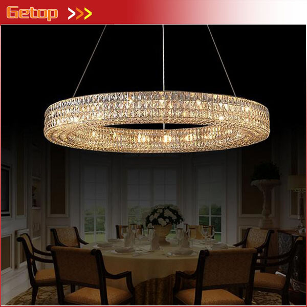 Vintage American K9 Crystal Pendant Light Iron for Dining Room Restaurant Bedroom Study Living Room LED Round Pendant Light E14 lustre shade round pendant lamp suspension e27 bulb light lighting for living dining room restaurant bedroom study