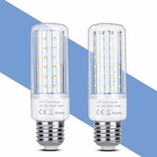 E27 LED Light E14 Bulb Corn Lamp 2835 SMD For Home High Power 5W 10W 15W 20W No Flicker Candle 220V