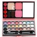 33 Colores de Maquillaje Paleta de Colorete En Polvo Fundación Ceja Sombra de Ojos brillo de Labios