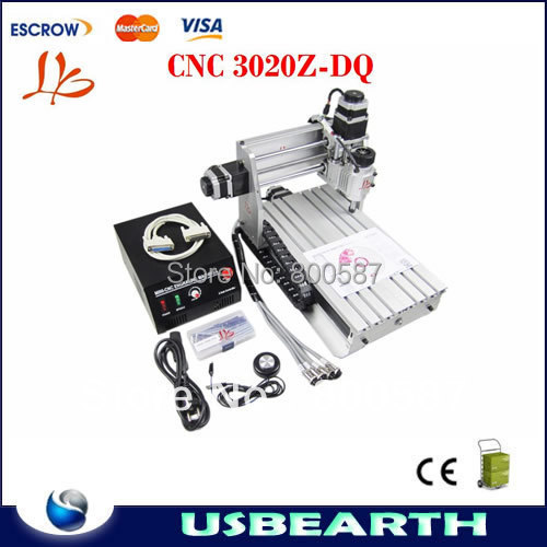 CNC 3020Z-DQ engraving machine, CNC3020 drilling milling machine. CNC 3020Z router for engraving woods PCB plastic... eur free tax cnc 6040z frame of engraving and milling machine for diy cnc router