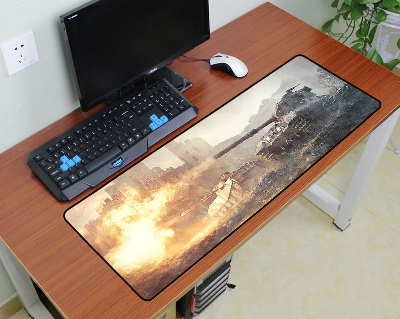 все цены на world of tanks mouse pad 900x300x3mm pad to mouse wot notbook computer mousepad large gaming padmouse gamer keyboard mouse mat онлайн