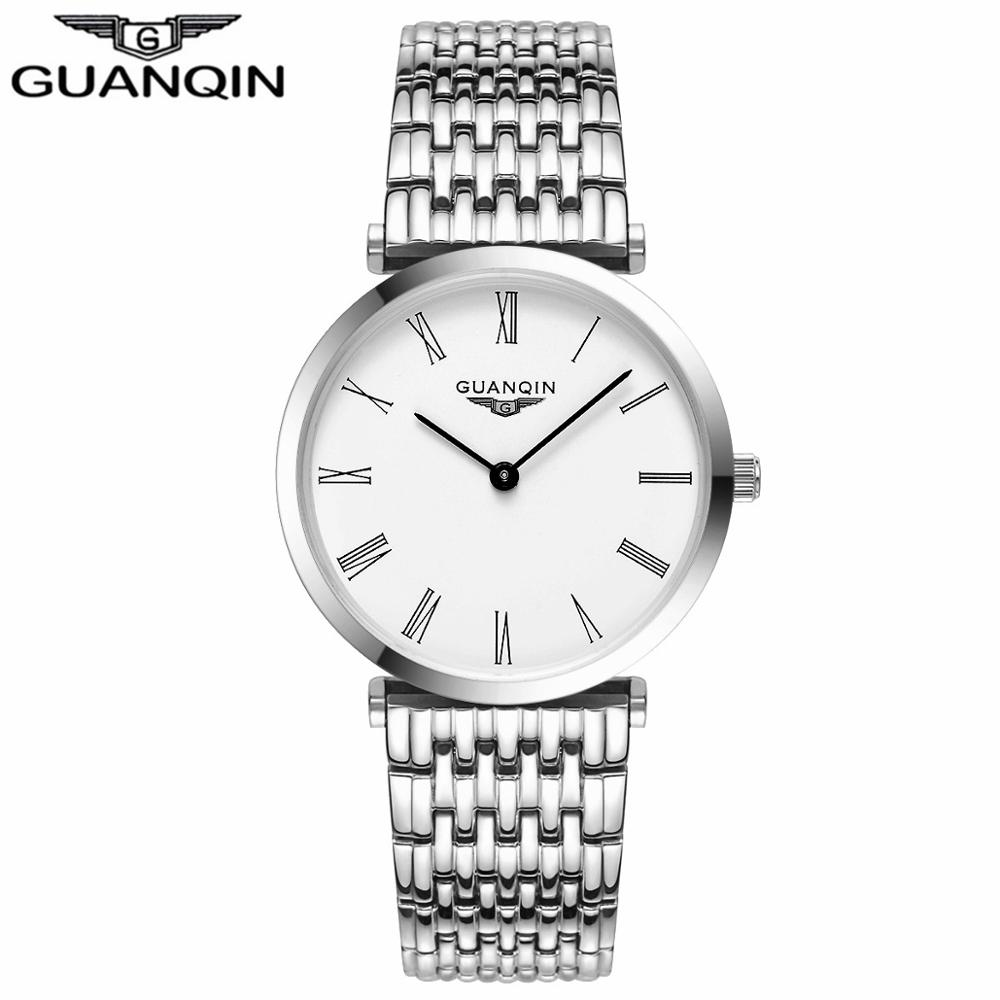 GUANQIN Women Watches 2017 Luxury Top Brand Watch Women Casual Fashion Gold Silver Steel Quartz Girl Watches relogio feminino (4)
