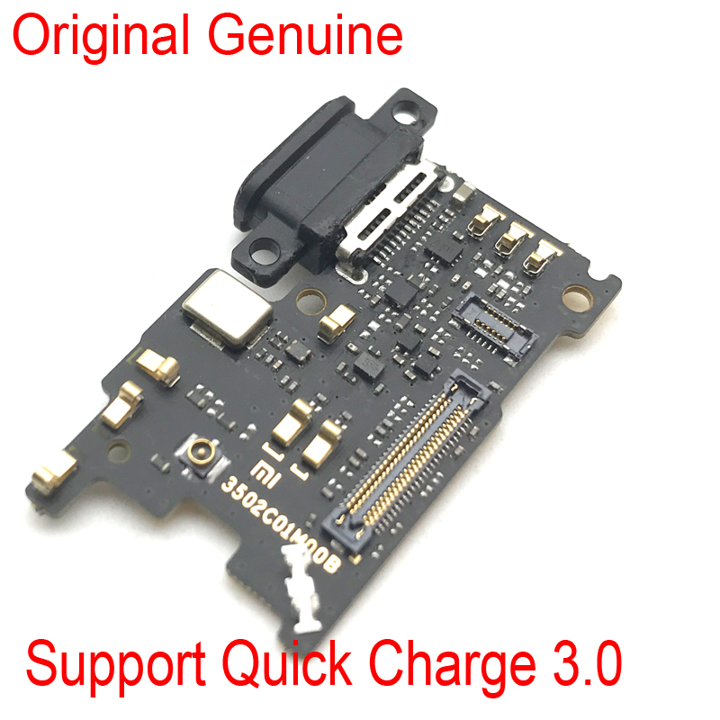 New Dock Connector Charging Port Flex Cable For Xiaomi Mi 6 Mi6 USB Charging Port Charger Board Replacement Parts