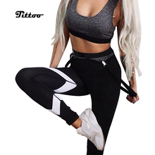 b26bbb103d8334 (Ship from US) Fittoo Patchwork White Yoga Pants Women High Waist Print Gym  Sport Fitness Leggings Workout Running Tights Yoga Pants S/M/L/XL