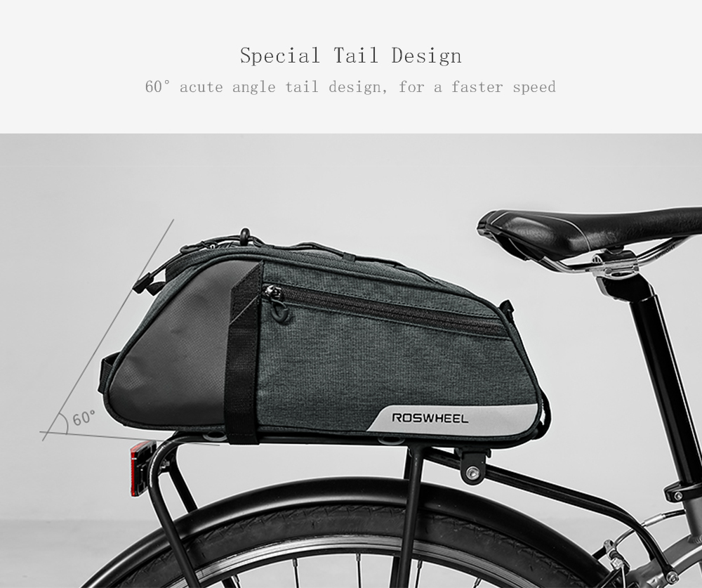 63c76a03194 Tamaño del paquete (largo x ancho x alto):37,00x17,00x14,50  cm/14,57x6,69x5,71 pulgadas Contenido del paquete:1 bolsa para maletero de  bicicleta, 1 correa ...