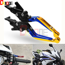 CNC Aluminum Universa lMotorcycle Dirt Bike Brake Clutch Levers For HONDA CBR600 F4I CBR650F CB650F/BMW Yamaha Motorcycle
