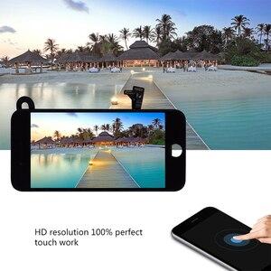 Image 5 - 10 pcs lot Completa Tela de Toque de Vidro Digitalizador & LCD Substituição Assembly Para o iphone 7 7g & Câmera Frontal frete grátis DHL