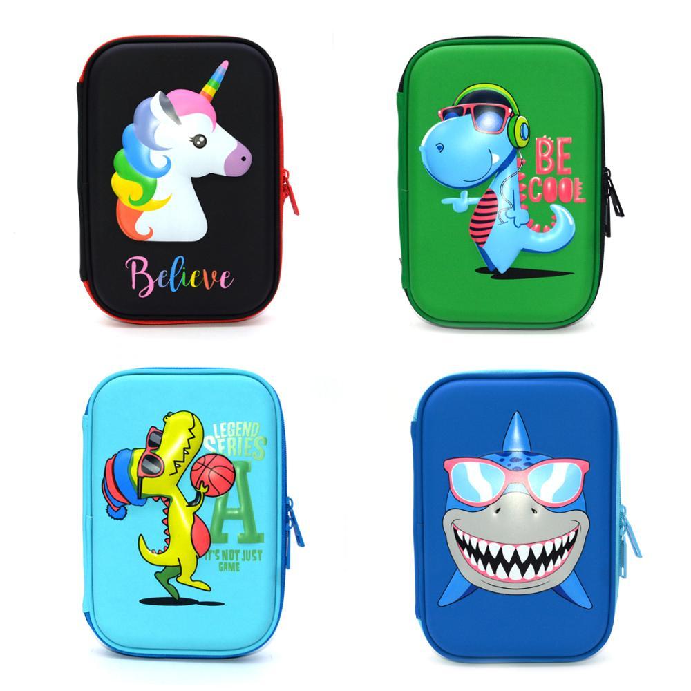 pencil case unicorn cute stationery school pink estuche kawaii black astucci for girls boys etui pennen piornik estojo escola