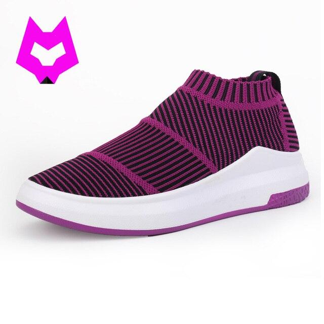 Mujeres Calcetines flyknit Zapatos amaestradores de lujo hechos ...