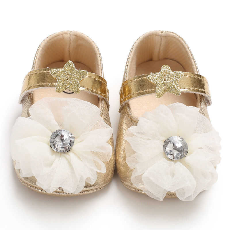 Fashion Newborn Shoes Girl First Walker Girls PU Leather Sequins Lace Bow-knot Shoes Girls First Walkers Fashion Baby Prewalkers