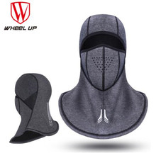 цены WHEEL UP Winter Cycling Cap Fleece Thermal Keep Warm Windproof Face Mask Bicycle Skiing Hat Cold Headwear Bike Face Mask Scarf