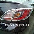 ABS Chrom Nach scheinwerfer Lampe Abdeckung  Freies verschiffen  auto styling FÜR 2009 2012 Mazda 6-in Chrom-Styling aus Kraftfahrzeuge und Motorräder bei