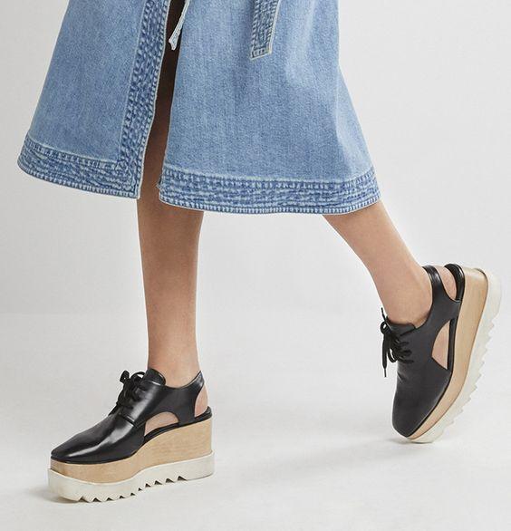 2018 кожа на платформе Броги вырез Elyse Flatform сандалии модная женская обувь 2018 г. летние туфли Женские сандалии