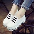 Platform Shoes 2015 Summer Harajuku Shoes Women Comfortable Round Creepers Shoes Loafers x514 50